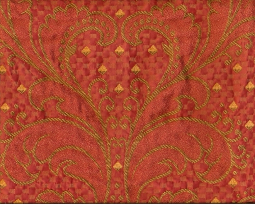 Jacquard in rot-gold (991044)